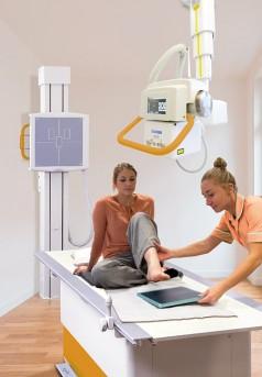 Oehm & Rehbein Deckenstativ-Röntgensystem